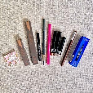 Eye Makeup Bundle: eyeliners, brows, eyeshadows